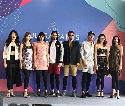 aulora pants fashion show