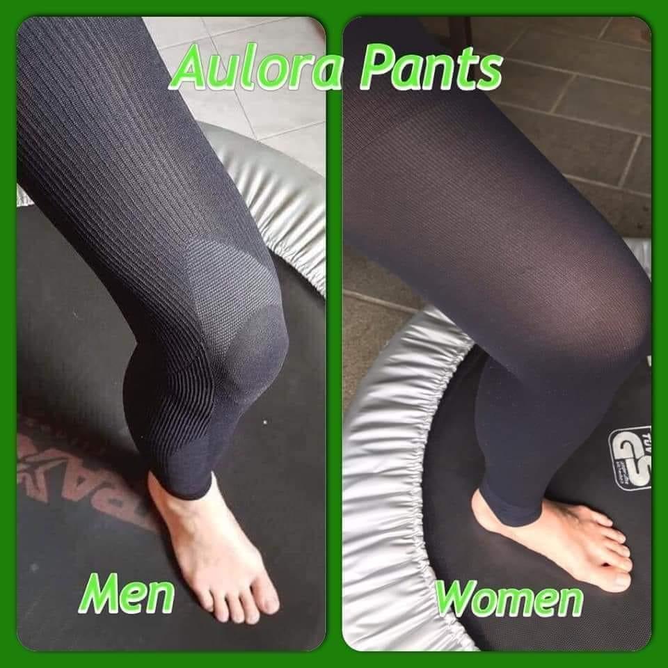 comparison of aulora pants men vs women